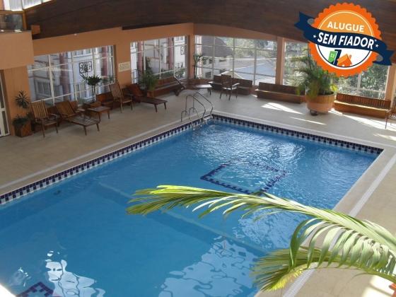 Apto. para 4 pessoas em condomínio com piscina