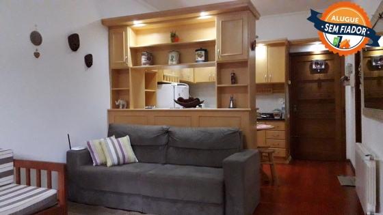 Excelente apartamento mobiliado para locação fixa